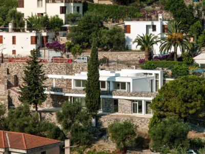 vue panoramique - Villa-Studiorossi par Studiorossi Secco - Crevo, Italie