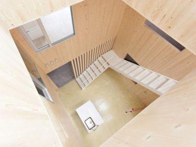 vue panoramique étage - g-house par Esau Acosta - El Sauzal, Espagne