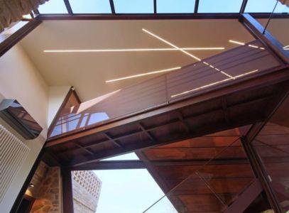 vue panoramique balustrade étage - Recupero-casa par Rocco Valentini - Chieti, Italie