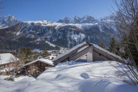 vue panoramique - chalet-dag par Chevalier Architectes - Chamonix, France