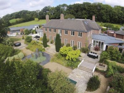 vue panoramique façade jardin - Lofties par Rayner Davies Architects - Lindrick Common, Angleterre
