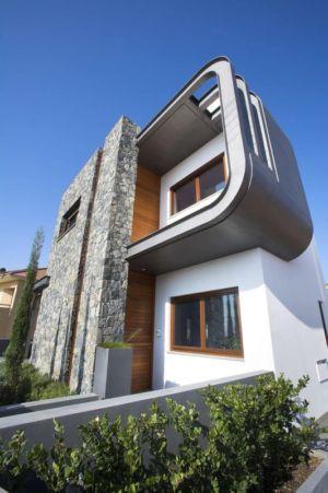 vfaçade entrée - tsikkinis par Tsikkinis Architecture Studio - Limassol, Chypre