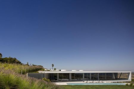 vue panoramique façade principale - zauia-house par mario martins atelier - Val da Lama, Portugal