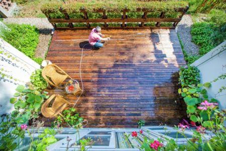 vue panoramique façade terrasse - Lettuce-House par He Ding - Beijing, Chine