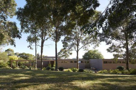 vue panoramique - maison contemporaine en bois par B.E ARCHITECTURE, Flinders, Australie