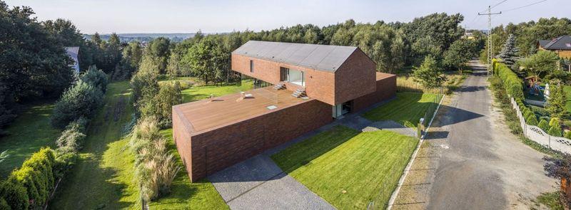 vue panoramique - maison exclusive par KWK Promes - Katowice, Pologne
