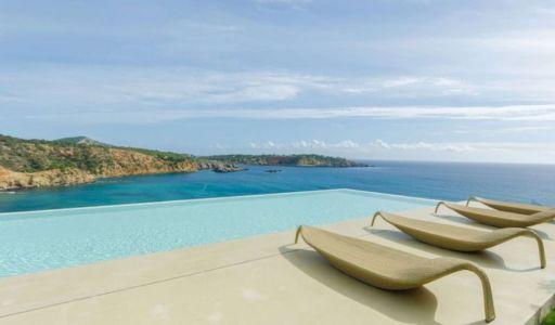 vue panoramique mer - Stunning-Villa par Villa Majestic - Ibiza, Espagne