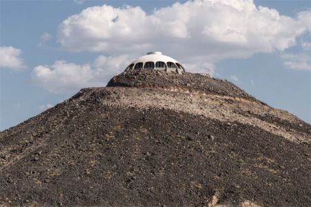 vue panoramique montagne - Volcano-House - Californie, USA