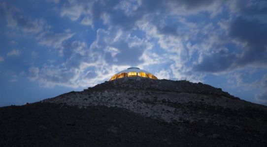 vue panoramique nuit - Volcano-House - Californie, USA