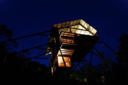 vue panoramique nuit - bungalow par narein-perera - Matugama, Sri Lanka