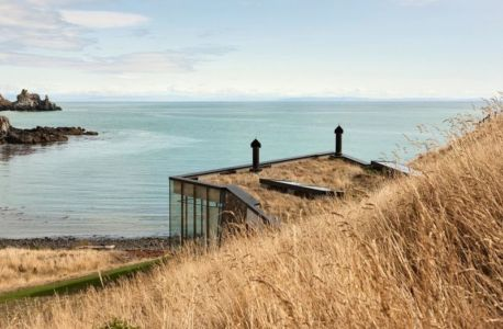 vue panoramique océan - fascinating-nature-house par Pattersons - Nouvelle-Zélande