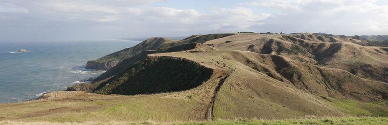 vue panoramique paysage - Modern farmhouse par Pattersons - Muriwai, Nouvelle-Zélande