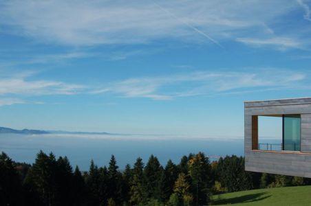 vue panoramique paysage - house-dornbirn par KM Architektur en Suisse