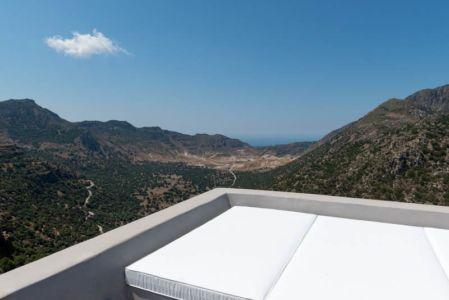 vue panoramique depuis terrasse - sterna-residence par Giorgos Tsironis and Greg Haji Joannides - Nisyros, Grèce