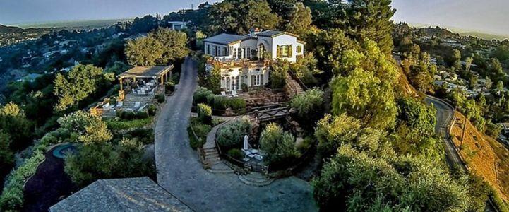 vue panoramique propriété - Superbe villa de Tom Cruise