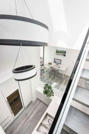 vue panoramique salle de bains & bureau - Berryman-Street-Residence par AUDAX architecture - Ontario, Canada