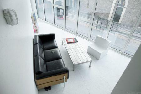 vue panoramique salon - Saganaki House par BUMParchitectes, France