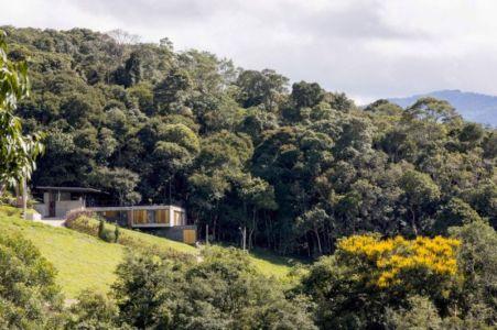 vue panoramique site - Casa-Santo-Antonio par H+F Arquitetos - Santo Antônio, Brésil