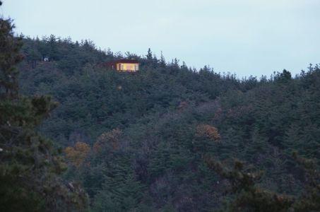 vue panoramique site - Hyunam-house par IROJE Architects & Planners - Gunwi-gun, Corée du Sud