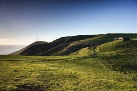 vue panoramique site - Modern farmhouse par Pattersons - Muriwai, Nouvelle-Zélande
