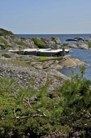 vue panoramique site - Summer-House par JVA - Vestfold, Norvège