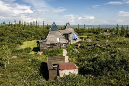 vue panoramique site - Vacation-home par Stunning Pyramid - Thingvellir, Islande