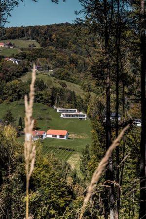vue panoramique site - Villas-2B par Love Architecture - Graz, Autriche