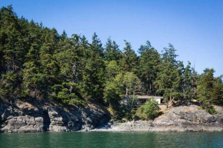 vue panoramique site - Woodsy-Retreat par Heliotrope Architects - Washington, USA