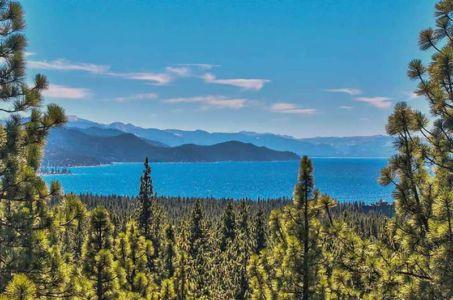 vue panoramique sur lac - lake-view-cabin - Nevada, USA