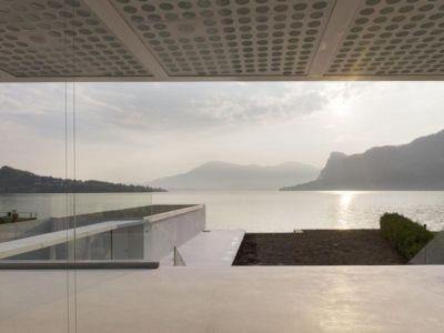 vue panoramique sur lac lucerne - o-house par Philippe Stuebi - Lucerne, Suisse