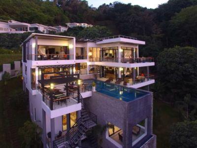 vue panoramique - villa contemporaine - Phuket, Thaïlande
