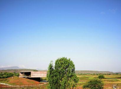 vue panorammique site - Panorama House par Ajay Sonar - Maharashtra, Inde