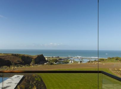 vue panoramique océan - Jersey House par Hudson Architects - Normandie, France