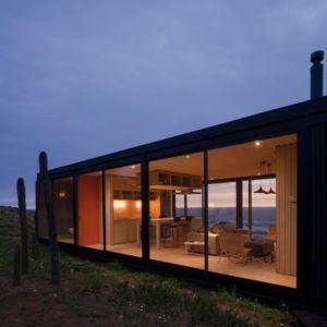 vue pièce de vie - Remote-House par Felipe Assadi - Pichicuy, Chili