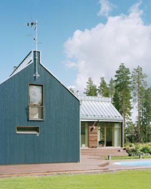 vue piscine - House Ulve par Oopera - Seinäjoki, Finlande