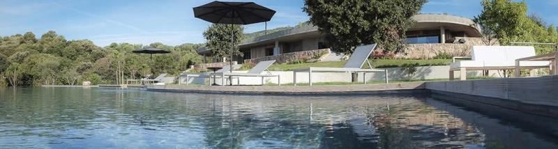 vue piscine - Villa Zed à Propriano, Corse