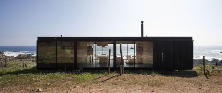 vue principale - Remote-House par Felipe Assadi - Pichicuy, Chili