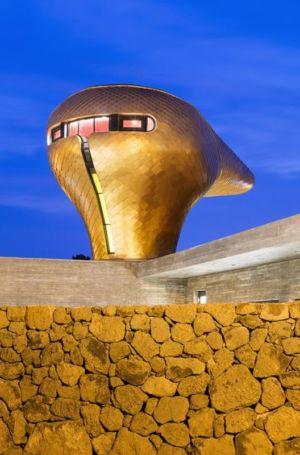 vue principale dôme d'or - Wind-House par Moonbalsso - Jesu Island, Corée du Sud
