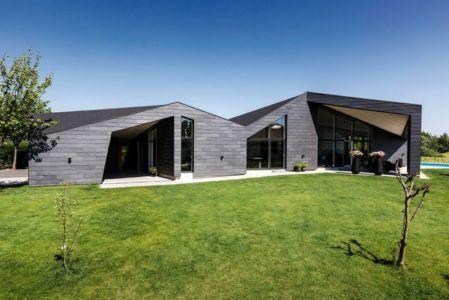façade terrasse - maison exclusive par Skanlux - Danemark