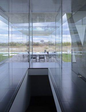 vue salle séjour - Campanario-2 par Axel Duhart Arquitectos - Santiago-Querétaro, Mexique