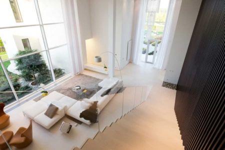 vue salon - Villa Agalarov par SL Project - près de Moscou, Russie