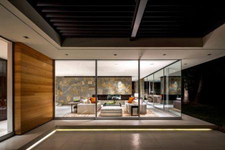 vue salon de nuit - Malibu Crest par Studio Bracket - Malibu, Usa