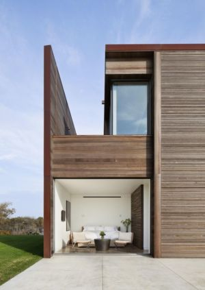 vue salon rez de chaussée - sagaponack par Bates Masi Architects - Sagaponack, USA