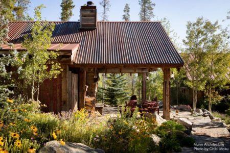 vue terrasse - Camp 88 par Munn Architecture - Colorado, USA