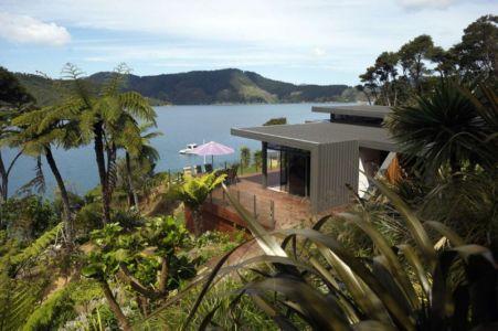 vue sur baie - Porotu Bach par studio MWA - Miritu Bay, New Zealand