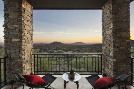 vue sur désert - villa du desert par Tor Barstad -Scottsdale, Usa