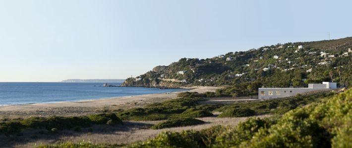 vue sur mer - Casa del Infinito par Alberto Campo Baeza - Cadix, Espagne - photo Javier Callejas Sevilla