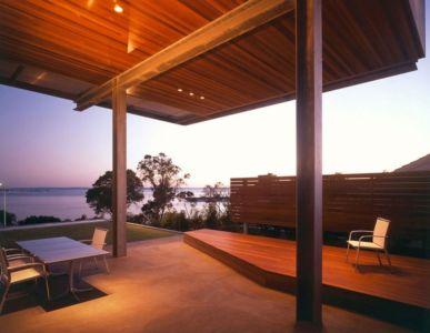 vue sur mer - Eaton Residence par E. Cobb Architects - Seattle, Usa - Photo Paul Warchol