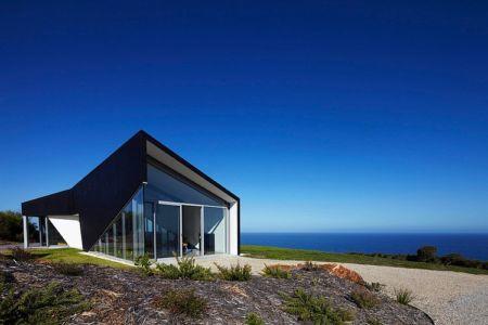 vue sur mer - Scape House par Andrew Simpson Architects - Victoria, Australie