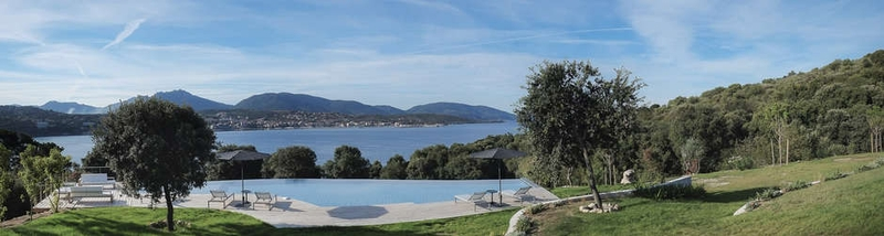 vue sur mer - Villa Zed à Propriano, Corse